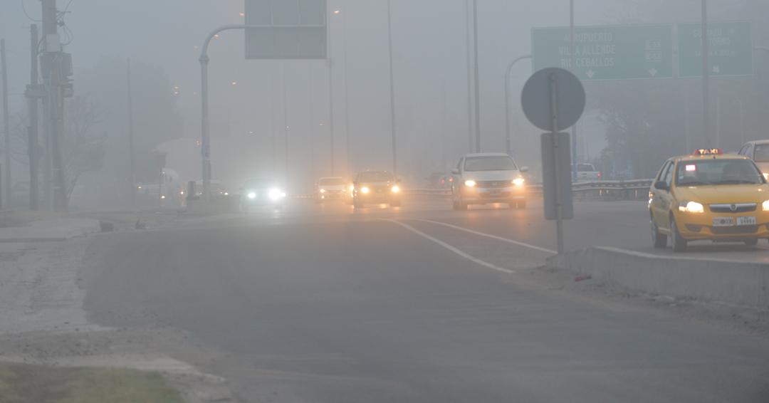 Escasa visibilidad por la niebla en rutas de c rdoba la for Lavoz del interior cordoba