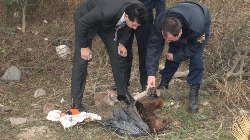De casualidad. Los restos de la mujer fueron encontrados casualmente por hombres que desmalezaban (LaVoz/Archivo).