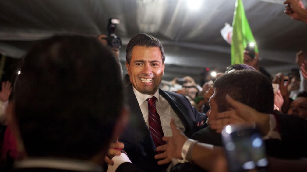 """Pelea. Enrique Peña Nieto dijo que irá al """"combate eficaz"""" contra los capos del narcotráfico en su país (AP)."""