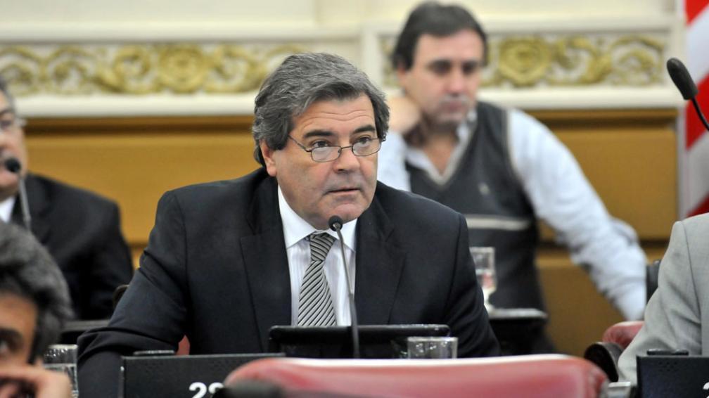 Convocatoria. Sergio Busso, titular del bloque oficialista, convocó a discutir la situación de la Caja (LaVoz/Archivo).