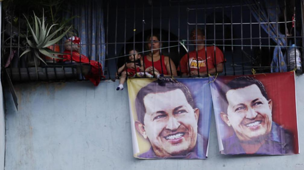 Incondicionales. En el Petare, un barrio de Caracas, Chávez no ha perdido su vigencia (AP).