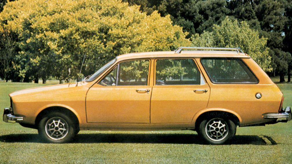 La versión break fue muy usada como ambulancia (Gentileza Renault Argentina).