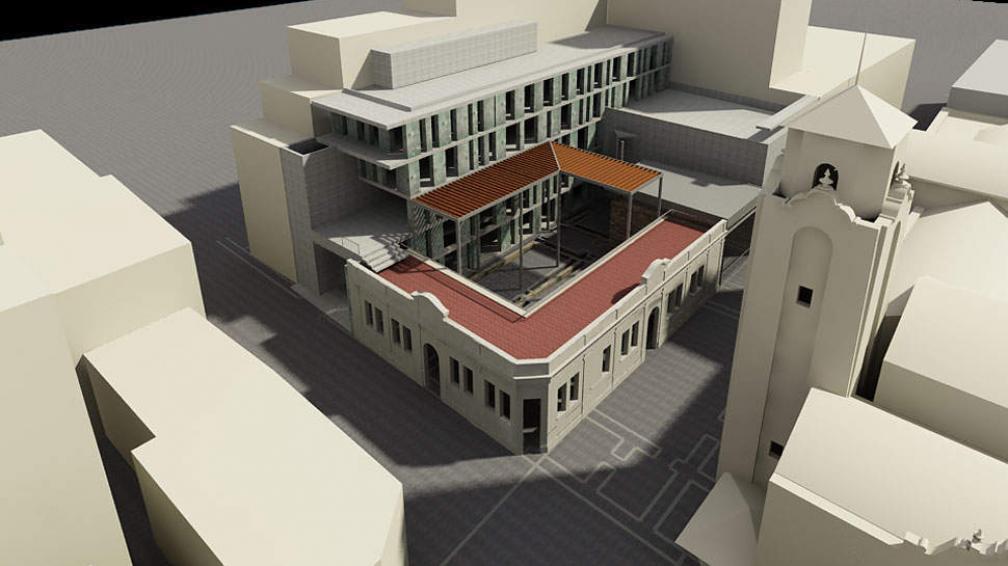Así quedará. El edificio conservará su fachada original.