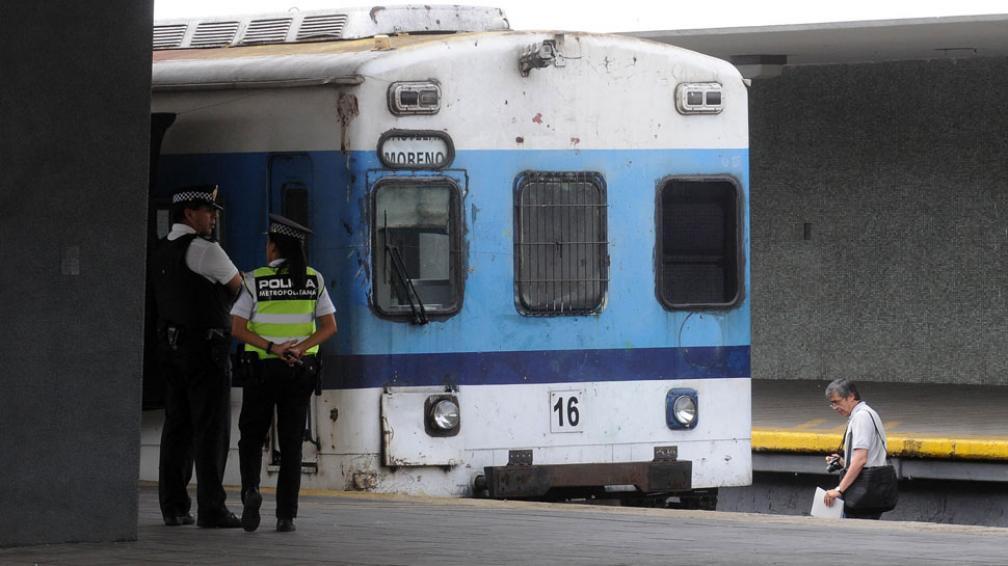 PERITAJES. De la Justicia en el tren de la línea Sarmiento (DyN/Archivo).