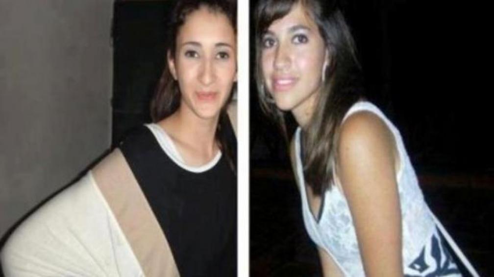 Víctimas. Yanina Nÿesch (16) y Luján Peñalva (19).