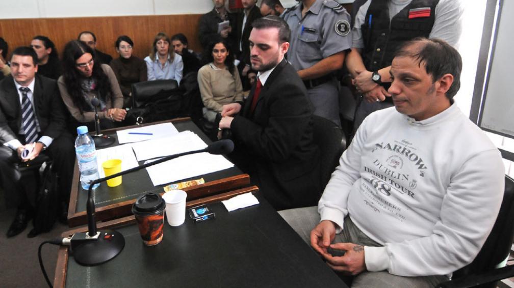 VÁZQUEZ. Durante el juicio (DyN).