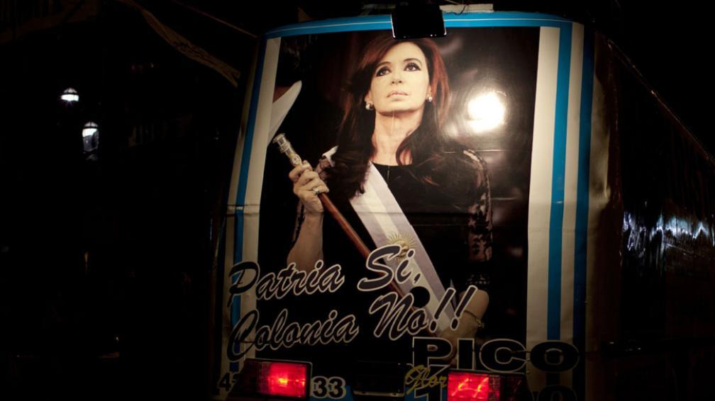 Presidenta. Cristina Fernández, máxima mandataria del país (AP).