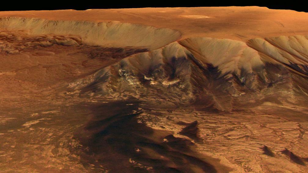 MARTE. Desde hace varios años se sospecha sobre la presencia de agua en ese planeta (Archivo).