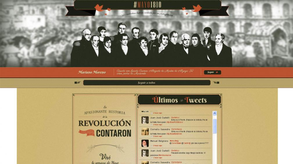 #Mayo1810 (Captura web).