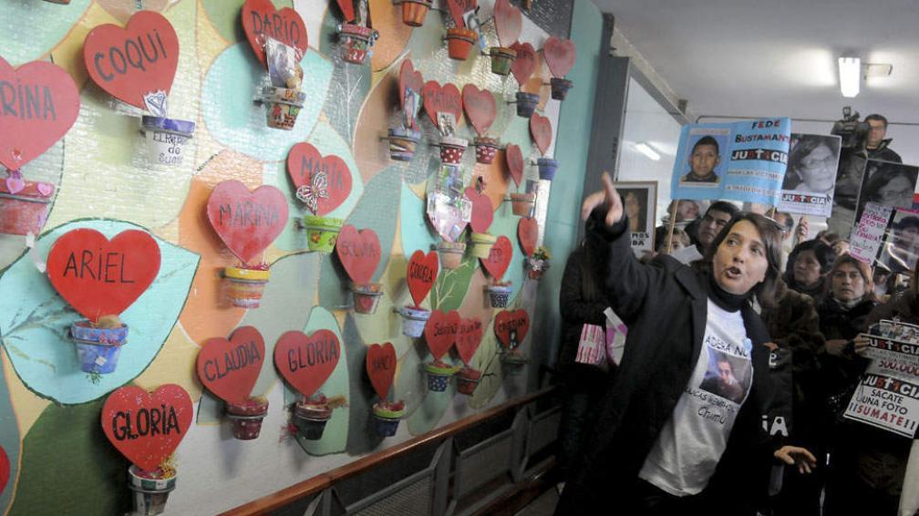 A LOS CUATRO MESES. De la tragedia (DyN/Archivo).