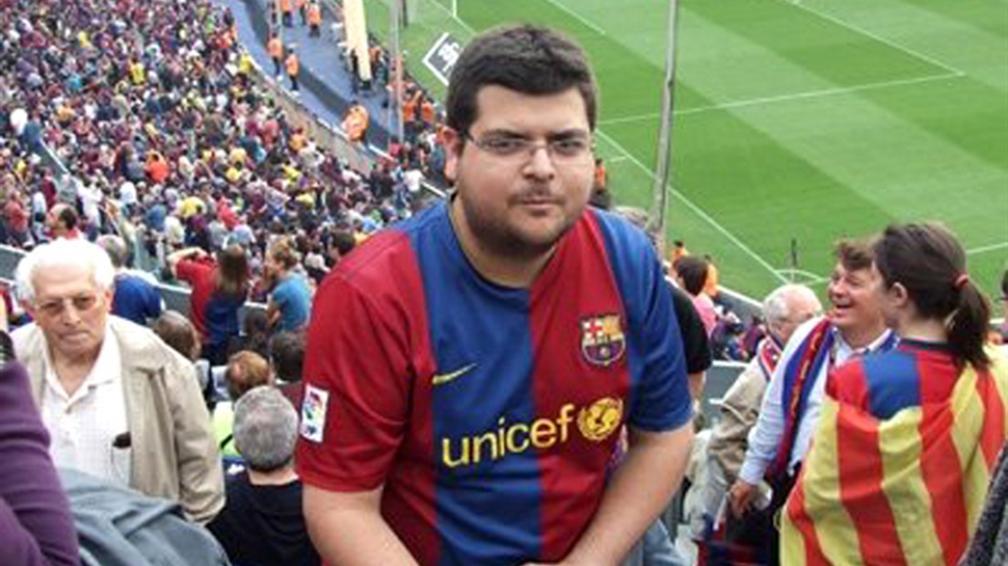Problemático. Para Pereira, viajar a España fue un gran desafío.