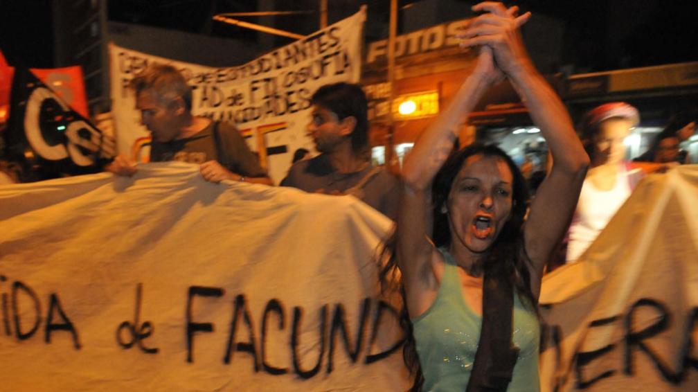 La madre de Facundo Rivera apunta directamente contra la Policía (La Voz).