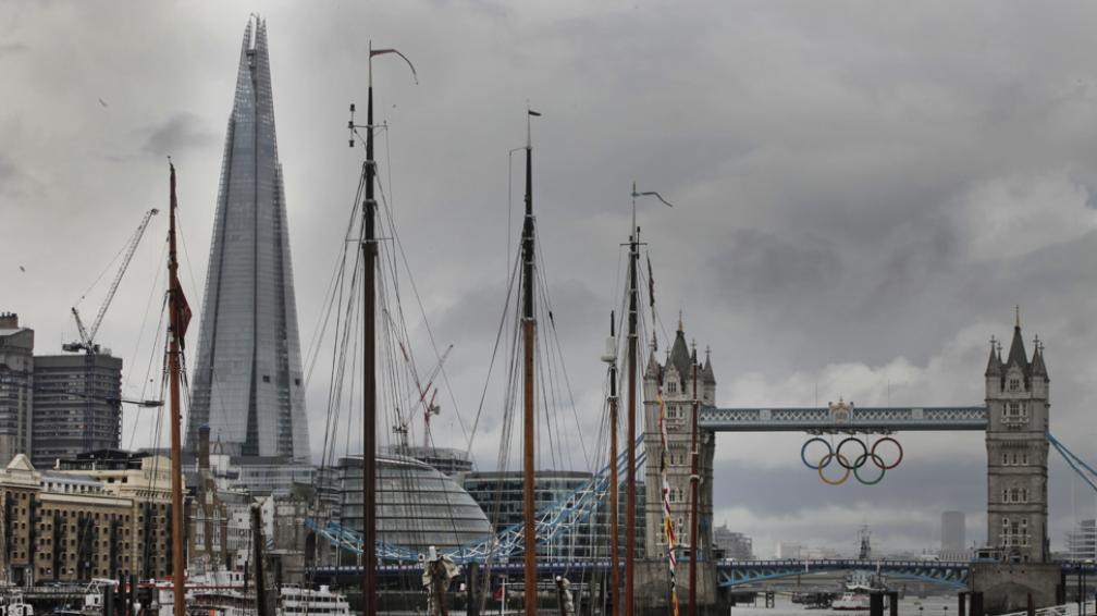 THE SHARD. El edificio más alto de Londres (AP).