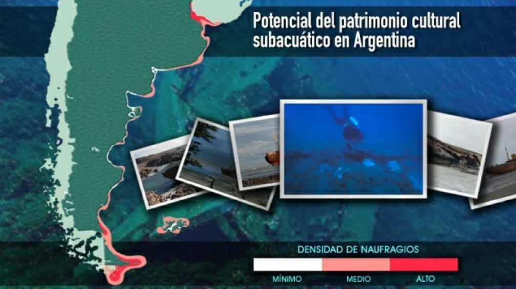 PATRIMONIO. La importancia de conocer lo que hay debajo del agua (Télam).