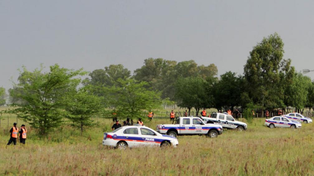 TRÁGICO FINAL. Tras dos días desaparecido, la Policía encontró el cuerpo de Tomás en una estancia (DyN/Archivo).