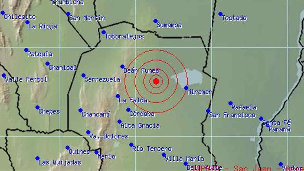 Un sismo se registr en el interior de c rdoba la voz for Lavoz del interior cordoba