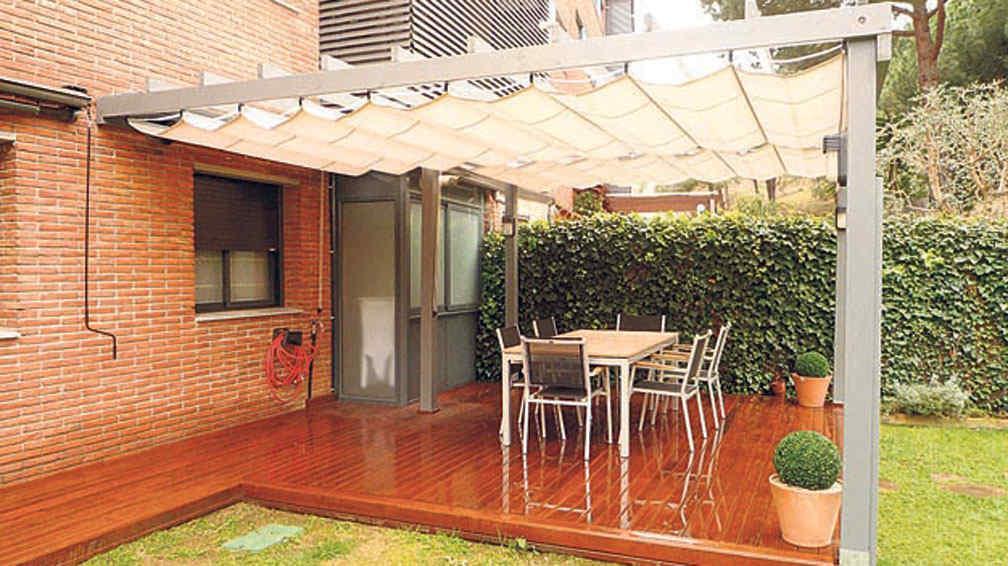 Para estar protegidos la voz del interior for Fotos de techos para patios