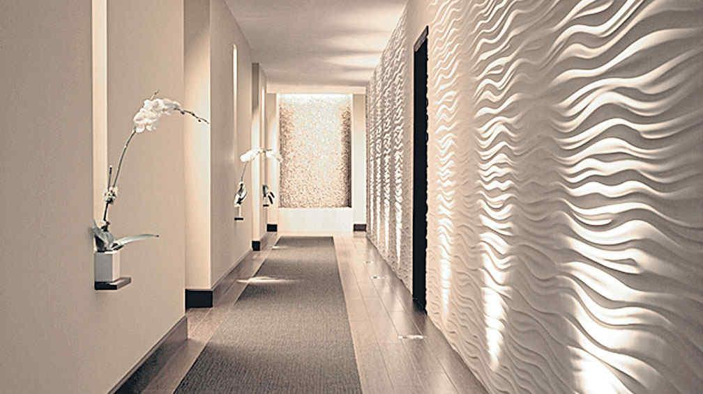 Macrotexturas en la pared la voz del interior - Disenos para pintar paredes ...