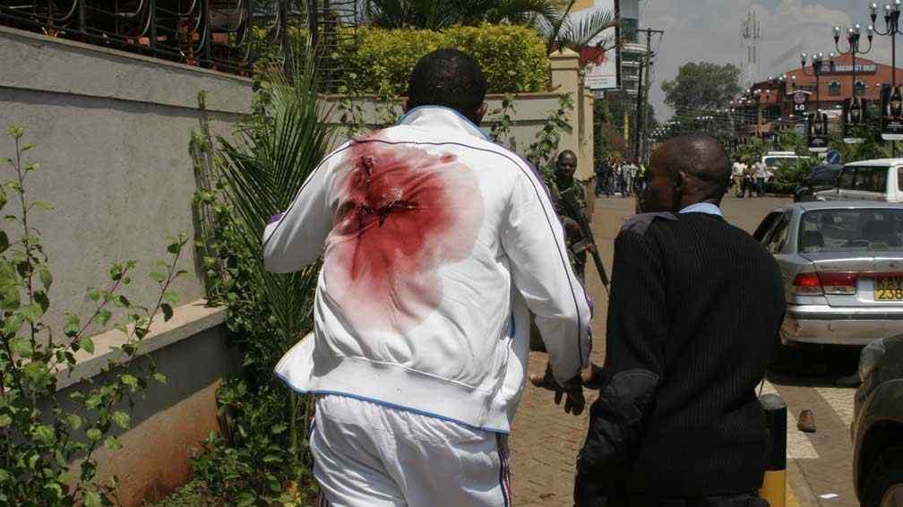 KENYA. Masacre en un lujoso shopping. Imágenes del horror (AP).