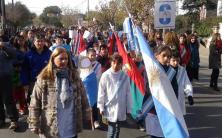 Villa Allende conmemoró el Día de la Bandera