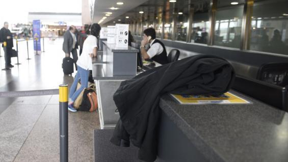OBJETO. En el aeropuerto Córdoba. Imagen ilustrativa (Ramiro Pereyra).
