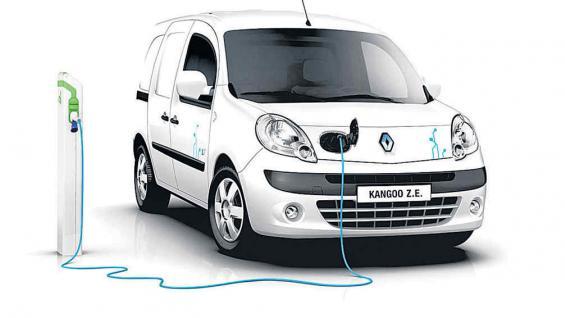 Renault Kangoo Z.E: pruebas piloto