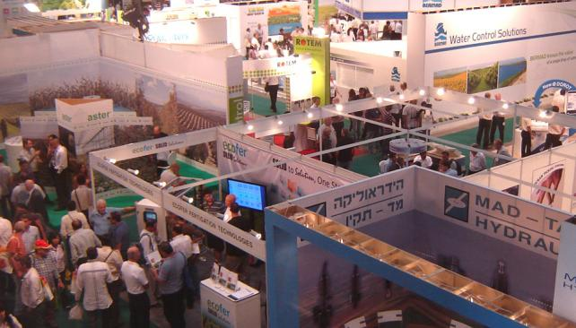 Interés tecnológico. En los dos primeros días de la feria en Tel Aviv asistieron cuatro mil extranjeros y 19 mil israelíes.