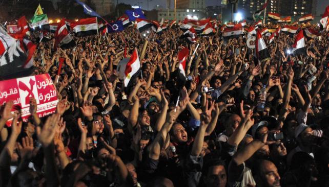 Reclamos. Partidarios de los Hermanos Musulmanes exigen transparencia a la junta (AP).