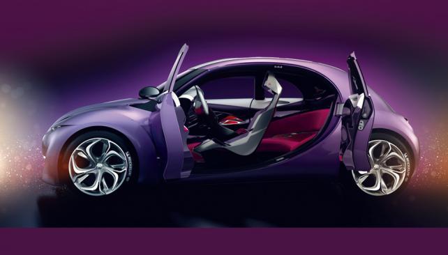 El Revolte está impulsado por un motor térmico y otro electrónico (Gentileza Citroën).