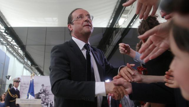 Cumplió. Hollande había prometido en sus discursos proselitistas una contrarreforma jubilatoria (AP).