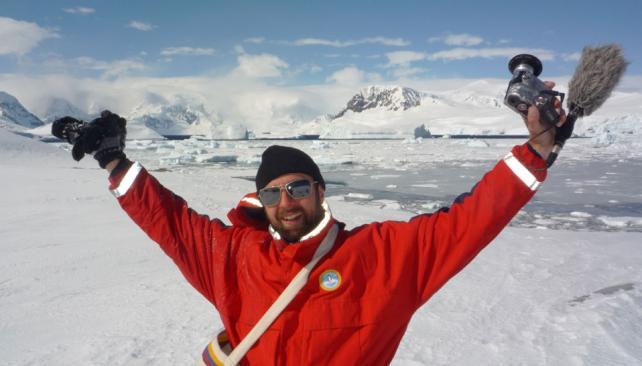WIGGE. Al llegar a la Antártida (AP).