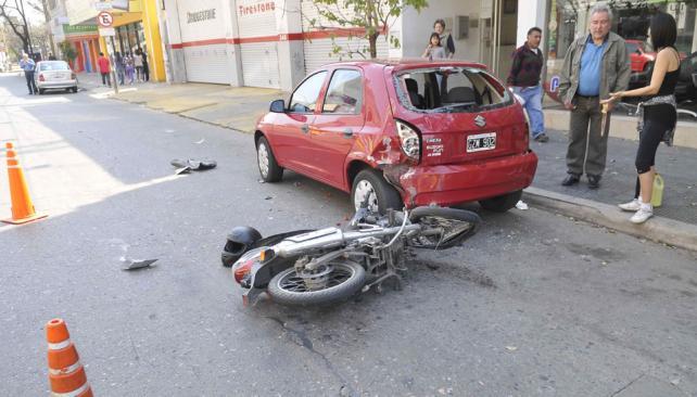 CASTRO BARROS. El accidente le costó la vida a una mujer de 40 años (Pedro Castillo).