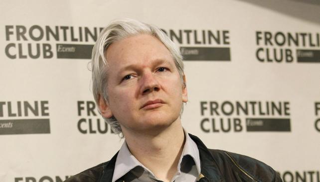 ASSANGE. El fundador de WikiLeaks está refugiado en la embajada de Ecuador de Londres (AP / Archivo).