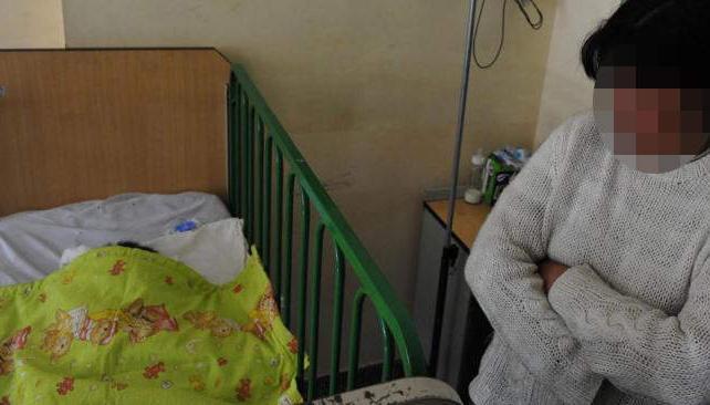 Cuidado. Benjamín está en el Hospital de Niños. Una voluntaria lo cuida. Irá en guarda (La Voz).