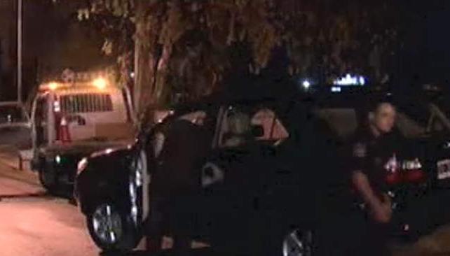 CAMIONETA. Así quedó el vehículo (Imagen TV).