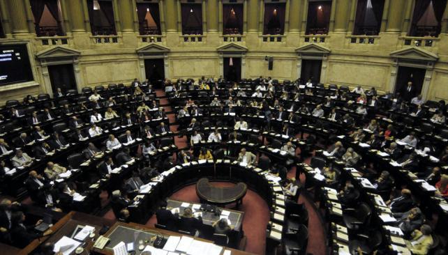 DIPUTADOS. Tratará una serie de leyes económicas (Archivo).