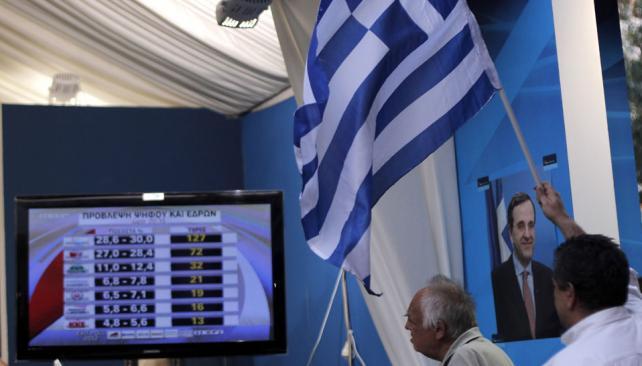 VOTACIÓN. Para los griegos, estas son las segundas elecciones nacionales en seis semanas y posiblemente las más cruciales en varias décadas (AP).