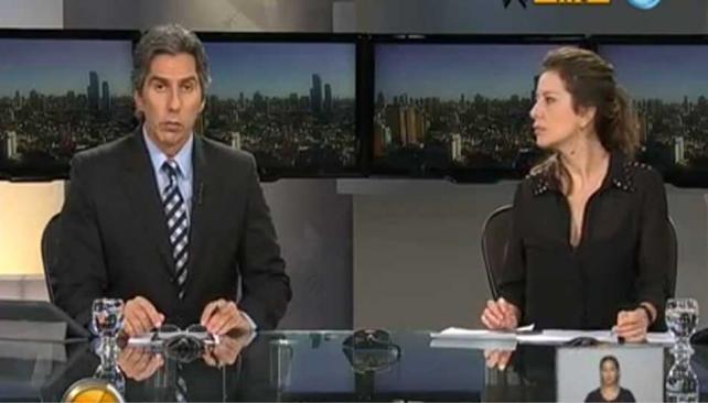 MICELI. EL periodista que desató el enojo de Larroque (Captura web).