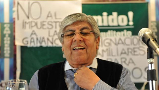 Denuncias. Hugo Moyano asumió todas las responsabilidades por el paro del miércoles pasado (DyN).