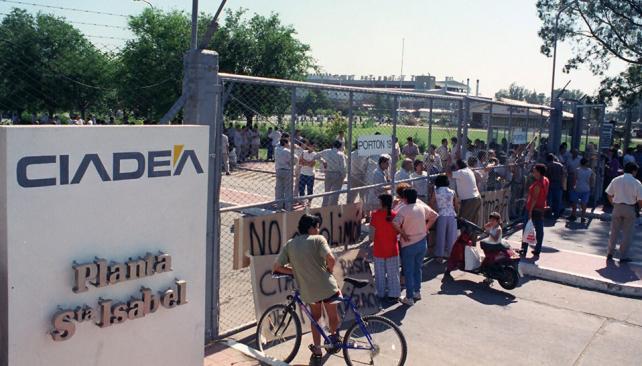 EX CIADEA. Hoy Renault Argentina. La causa se inició en 1997 por contrabando y defraudación (Archivo).