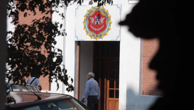 Sede. El robo tuvo lugar en la Departamental Villa María el domingo pasado (LaVoz).