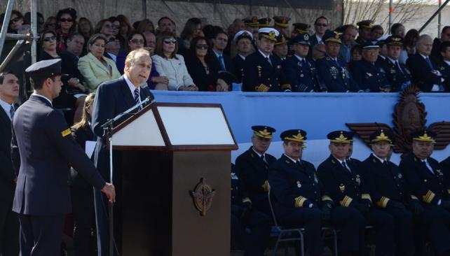 PURICELLI. Estuvo en Córdoba y reclamó diálogo por Malvinas (DyN):