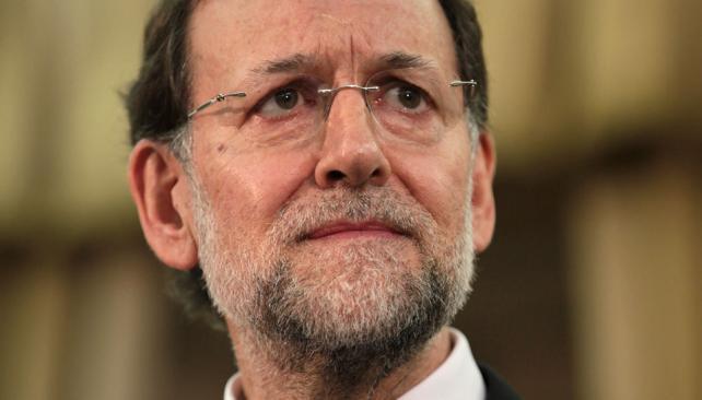 RAJOY. Negó las fuertes presiones de los últimos días por parte de Bruselas y Alemania para que solicitara un rescate (AP/Archivo).