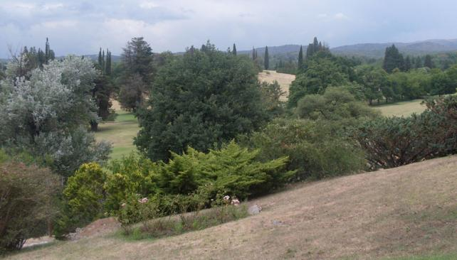 Ascochinga. El predio del Golf Club integra la zona del proyecto (La Voz).