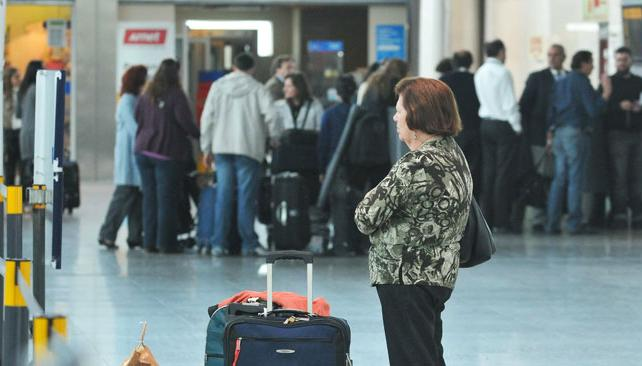 AEROLÍNEAS. Suspendió sus vuelos internacionales (LaVoz/Archivo).