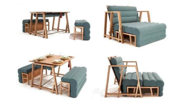 Poco espacio en tu casa mir c mo son los muebles for Muebles poco espacio