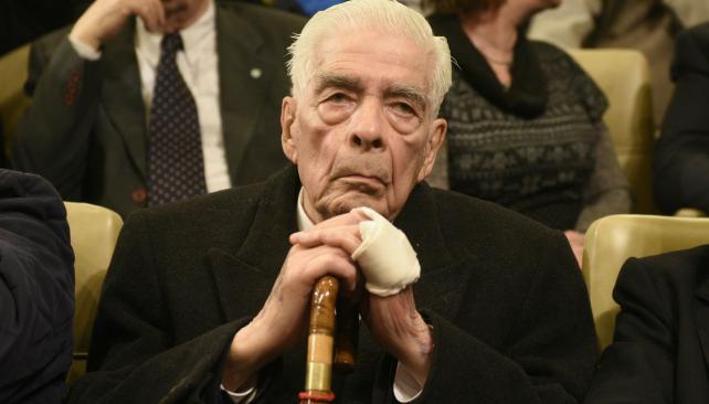 Megacausa La Perla. Menéndez fue condenado por 54 homicidios y absuelto por un asesinato. (Ramiro Pereyra)