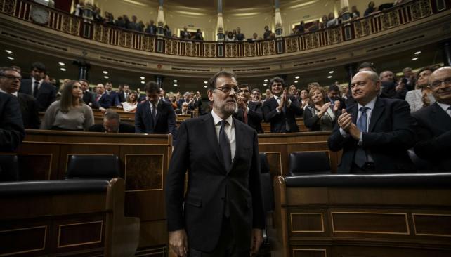 Mariano Rajoy es reelecto presidente del gobierno español por el congreso