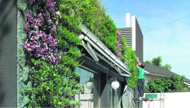 Las nuevas paredes verdes la voz del interior for Barrio jardin espinosa cordoba