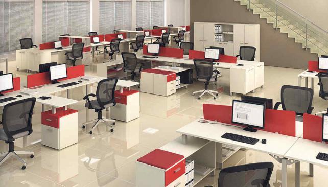 Facilitadores del trabajo la voz del interior for Muebles oficina diseno